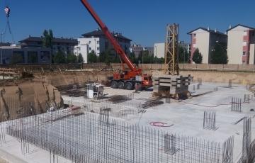 Az építkezés képekben