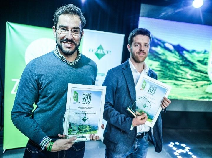 Ozone Zöld-díj a VKSZ Zrt-nek