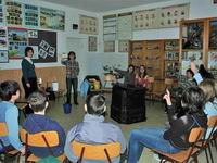 Komposztálási projekt - Iskolai foglalkozások beszámoló - 2009. március